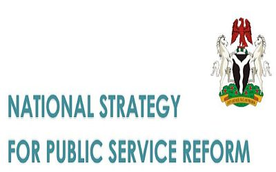 NATIONAL STRATEGY FOR PUBLIC SECTOR REFORM