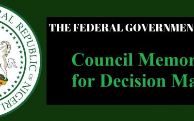 Course 108 – Council Memorandum for Decision Making