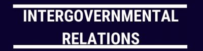 Course 113 – Inter-Governmental Relations