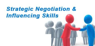 Course 105 – Negotiation and Influencing Skills